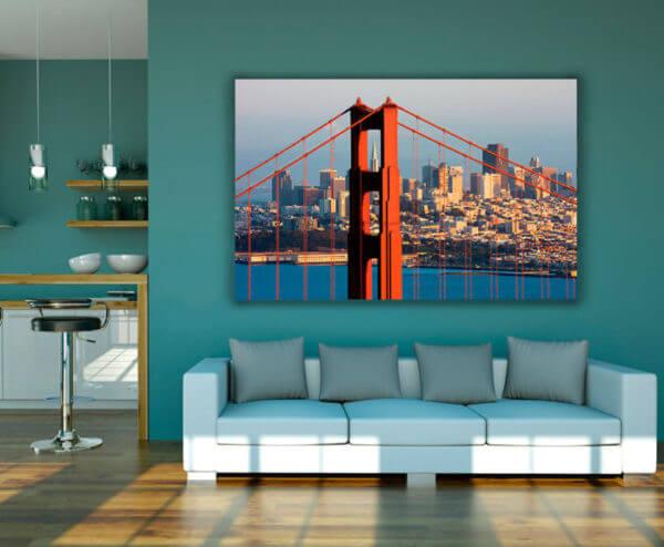 Cuadro Decorativo Puente Golden Gate 01