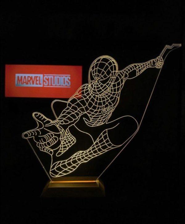 Lámpara LED Spiderman