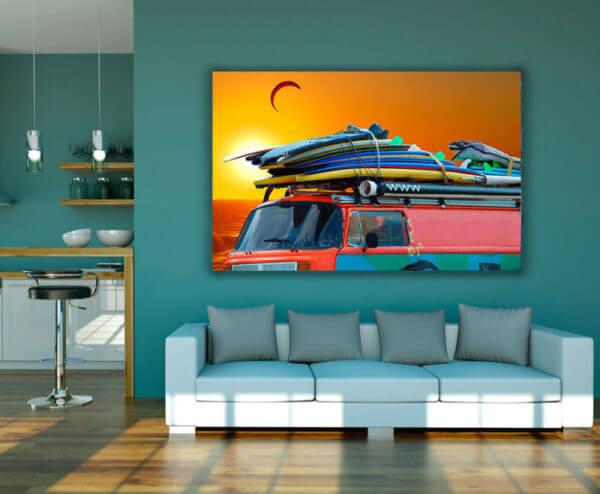 Cuadro Decorativo Surf 01