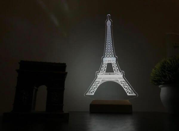 Lámpara LED Torre Eiffel