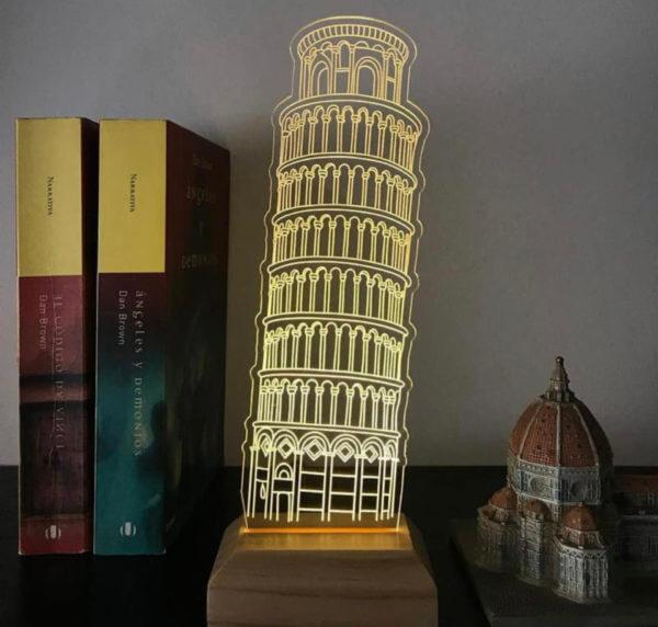Lámpara LED Torre Pisa
