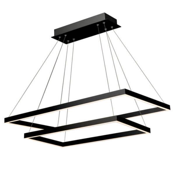 Lámpara De Techo Negra Atria