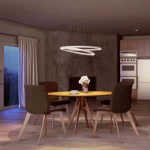 Lámpara de techo o Lámpara luminaria persia