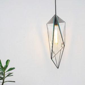 Lámpara de Techo Icosaedro Biselada