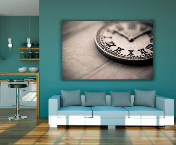 Cuadro Decorativo Reloj Vintage
