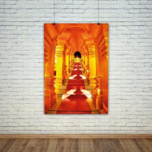 cuadro decorativo templo hindu