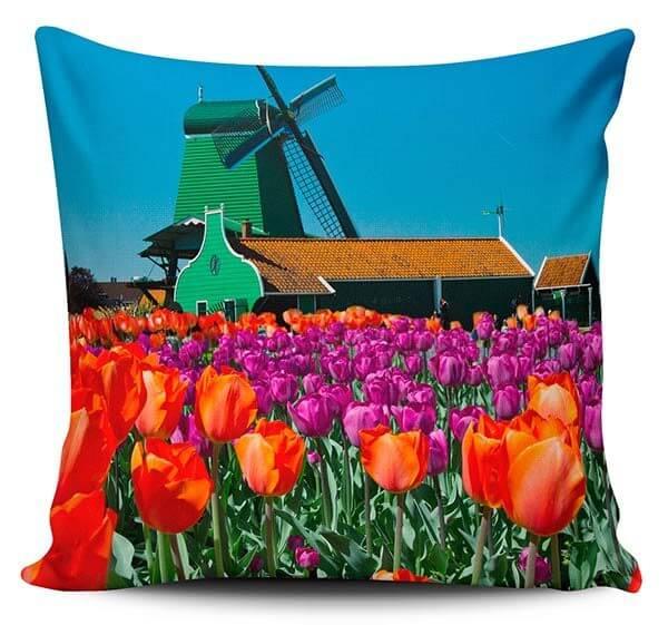 Cojines Decorativos Tulipanes 01