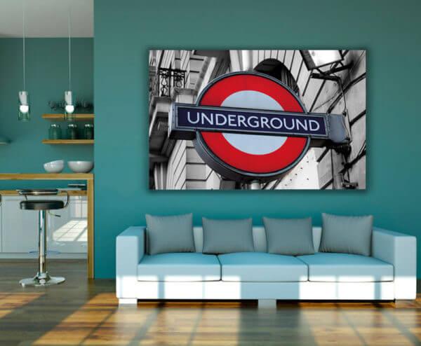cuadro decorativo underground