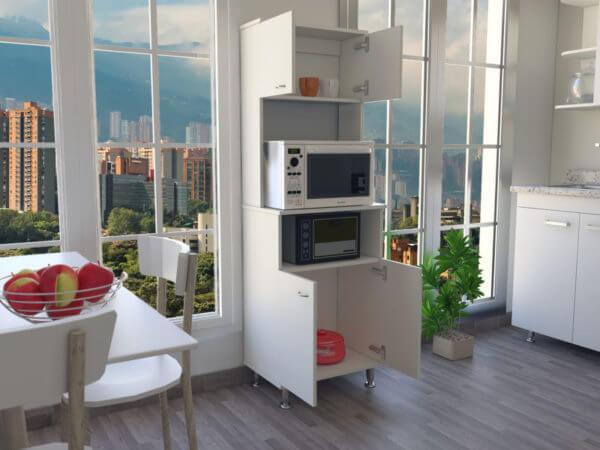 Modulo Microondas Kitchen Blanco