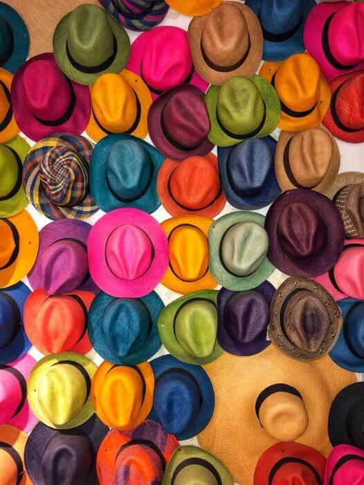 Cuadro Sombreros