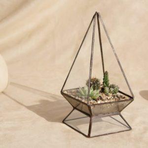Terrario o matera piramidal Teardrop