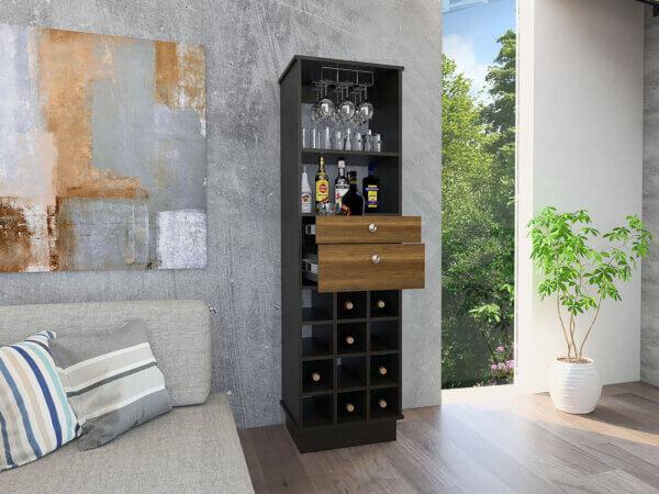 Bar Classic Color2_Wengue Caramelo ambientado abierto Ebani Colombia tienda online de decoración y mobiliario RTA