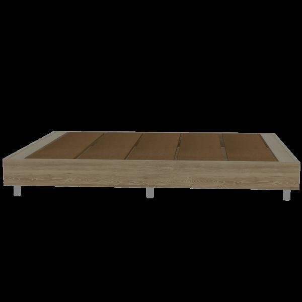 CLM 4036 Basa cama Lugo_Miel_FB Frontal sin decorar Ebani Colombia tienda online de decoración y mobiliario RTA