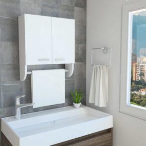 Closet hogar Economico  rovere-blanco 80 cm