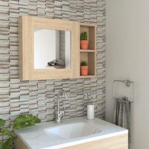 Espejo Decorativo o para baño Napoli