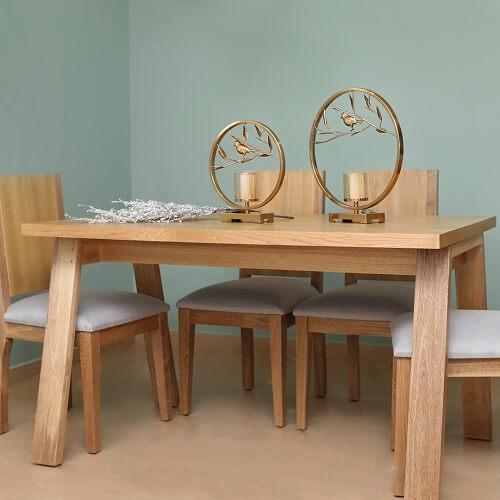 Mesa de Comedor Abril + sillas (opcional)