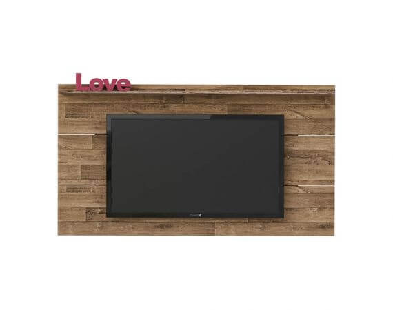 Panel o Mueble para Tv Slim Para Pantalla Hasta 55 Rústico Ebani Colombia tienda online de decoración y mobiliario Bertolini