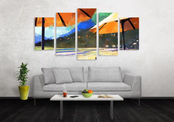 Cuadro Decorativo Playa 38