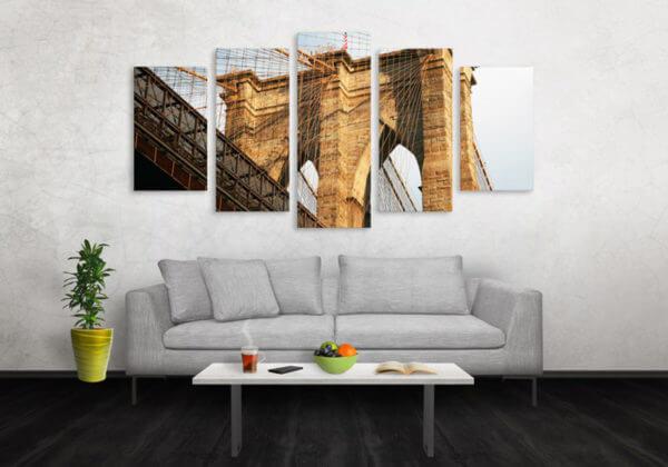 Cuadro Decorativo Puente New York 01