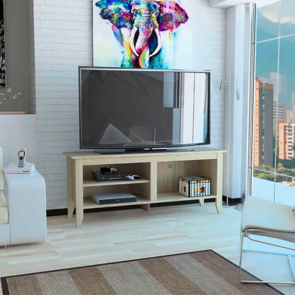 Centro de entretenimiento o mesa para TV 65 Essential Rovere