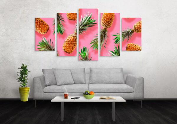 Cuadro Decorativo Piña 07