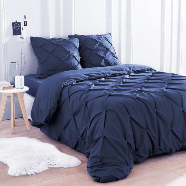 Duvet Pinch Azul Oscuro