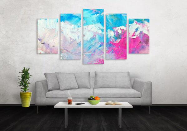 Cuadro Decorativo Pintura Pincel 15