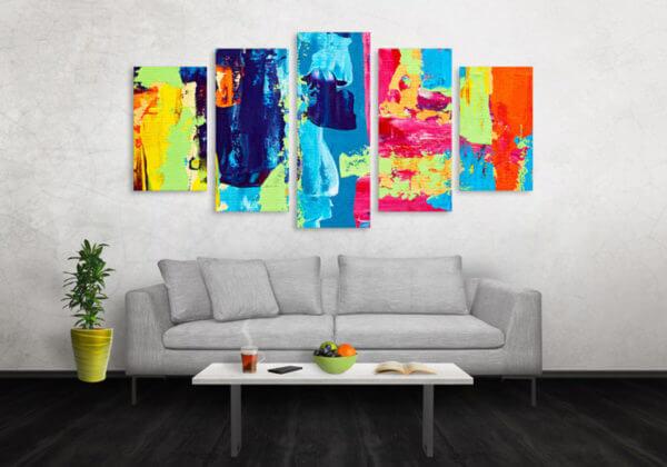 Cuadro Decorativo Pintura Pincel 16