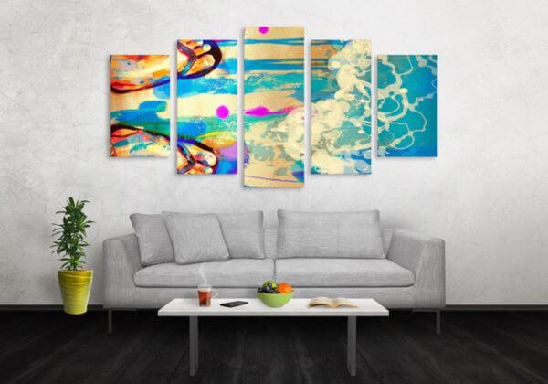 Cuadro Decorativo Playa 36
