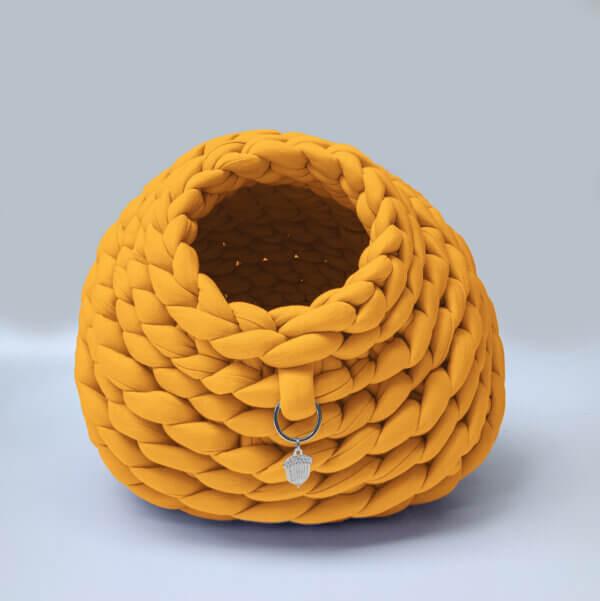 Cama para gato tipo cueva color Moztaza Ebani Colombia tienda online de decoración y mobiliario Binni