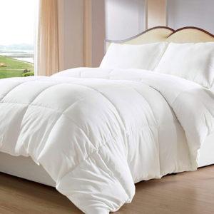 Plumón 180 Hilos 50% Alg - 50% Microfibra Blanco ebani ropa de cama