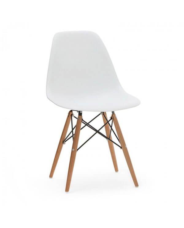 silla auxiliar eames blanca ebani