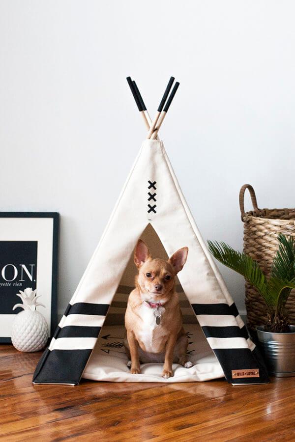 teppe para mascota blancas ebani decoracion