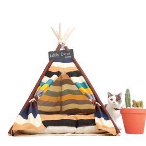 teppe para mascotas multicolor ebani decoracion