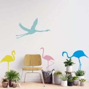 Vinilo Decorativo Infantil Tiernas Aves