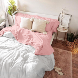 Duvet degrade rosado