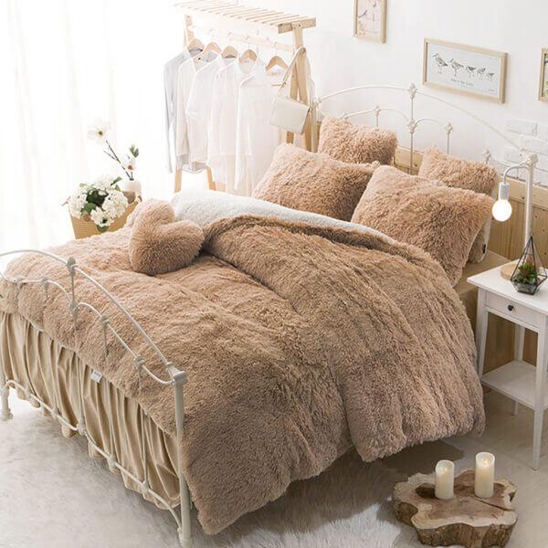 Duvet Felpa Plus Ovejero Camel