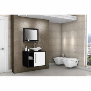 Mueble de Baño Baden Con Lavamanos y Espejo Baden