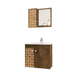 Mueble de Baño Munique Con Lavamanos y Espejo