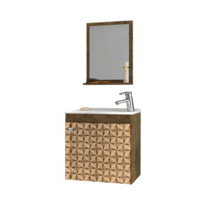 Mueble de Baño Siena Con Lavamanos y Espejo Siena