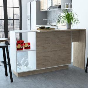 Barra Comedor Sicilia Roble Gris Ebani Colombia tienda online de decoración y mobiliario RTA