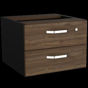Cajonera Monarca (1C) Negro Soft+Gales 2 Ebani Colombia tienda online de decoración y mobiliario RTA