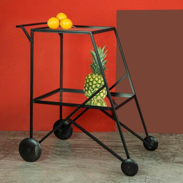 Carro Bar o Mesa bar Rodio ebani tienda online de decoracion y mobiliario