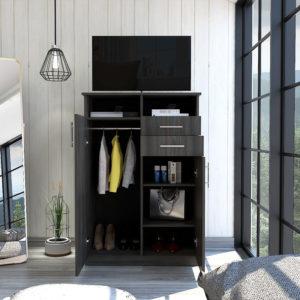 Closet Entretenimiento Eco (1C) Carbon 1 Ebani Colombia tienda online de decoración y mobiliario RTA
