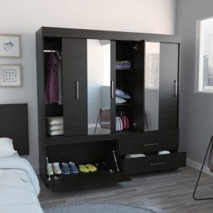 Closet Portofino Con 2 Espejos Ebani Colombia tienda online de decoración y mobiliario RTA