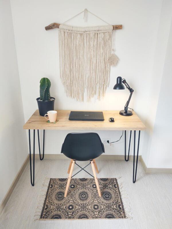 Escritorio minimalista para pc o estudio Fiore