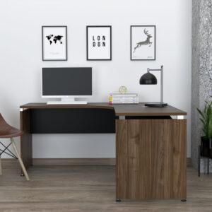 Escritorio Moderno Para PC o Estudio Monarca 160 (2C) Neg Ebani Colombia tienda online de decoración y mobiliario RTA