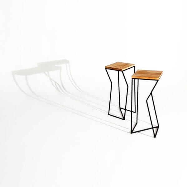 Mesa Auxiliar Ave De Hierro ebani tienda de mobiliario online