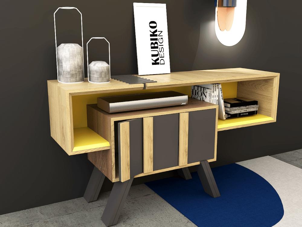 Organizador o mueble para TV Fusione