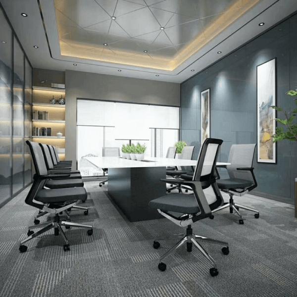 Silla de oficina Gerencial Tech Negra ebani tienda online de decoracion y mobiliario